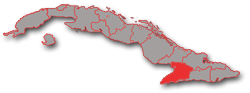 Location map Manzanillo Cuba