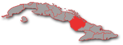 Camaguey province - geographic location in Cuba