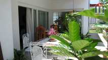 Terrace with lots of greenery - an attractive accommodation offer in Havana Cuba