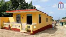 A modern house, but in the historic center of the colonial city of Trinidad Cuba