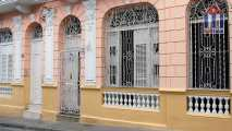 """Hostal Amanecer"" in Santiago de Cuba - view from the street"