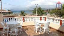 Great views from the terrace to the beach and the sea - Cuban beach holidays