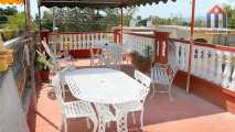 "The terrace ""Hostal Yadira y Ailin"" is located on the roof of the house"