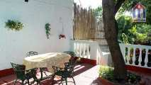 A beautiful large terrace behind the house - all private for you!