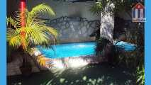 View of the pool - casa rental of Mr. Mario Ernesto Perez in Puerto Padre