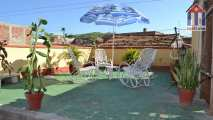 "The roof terrace of the ""Hostal Benavente"" in Trinidad Cuba"