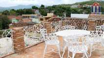 The beautiful rooftop terrace - stunning views and a great place for relaxing