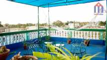 "The roof terrace - ""Hostal Saba"" in Cienfuegos - the chill out zone"