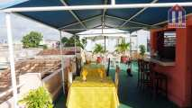 The rooftop terrace - with a nice atmosphere to enjoy