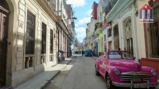 Sights in Centro Habana - district in Havana Cuba