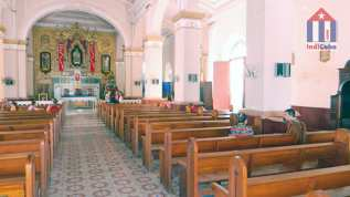 Sights in Manzanillo Cuba - church