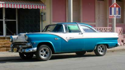 Ford Fairline - coches en Cuba