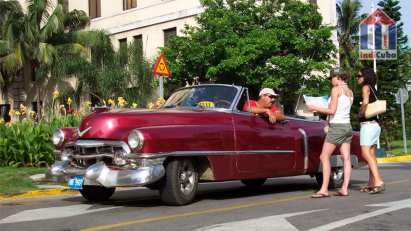 What to do in Old Havana Cuba - vintage cars rental Grancar