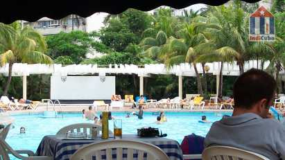 Pool Hotel Nacional Vedado Havana - what to do - activities