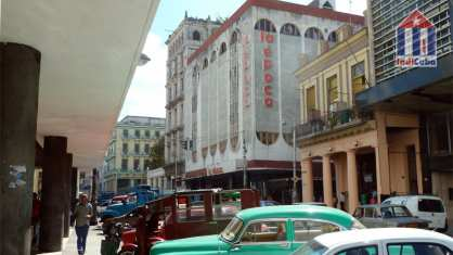 Centro Habana district - travel guide - Calle Galiano street