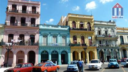 Facades in Old Habana - Fotos and recommendations for traveler