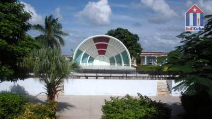 Park with open air theater in Puerto Padre