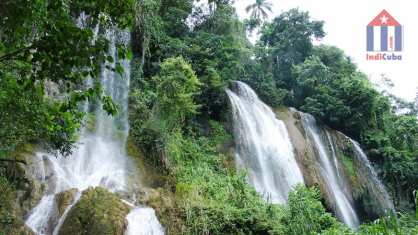 Tourist destinations in the surroundings of Trinidad Cuba - Tope de Collantes