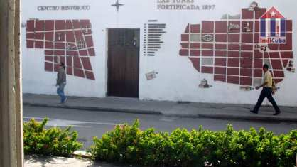 Historic sights in the center of Las Tunas Cuba