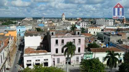Panoramic view of Camaguey Cuba