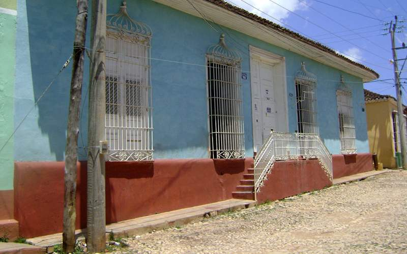 "Pension ""El Tayaba"" in Trinidad Kuba"